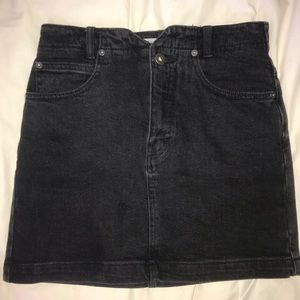 Free people black skirt in perfect condition
